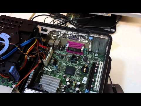 How to fix Dell Optiplex 745 Battery Voltage low Press F1