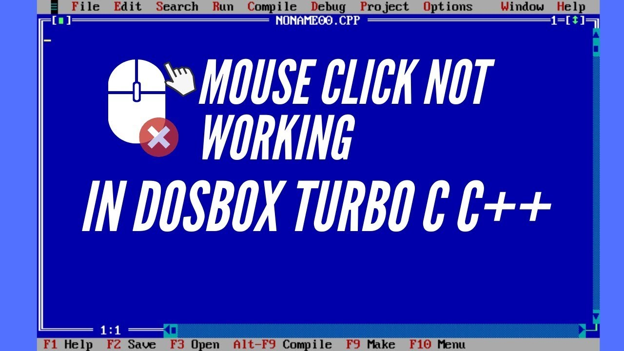 Dosbox Mouse Not Working
