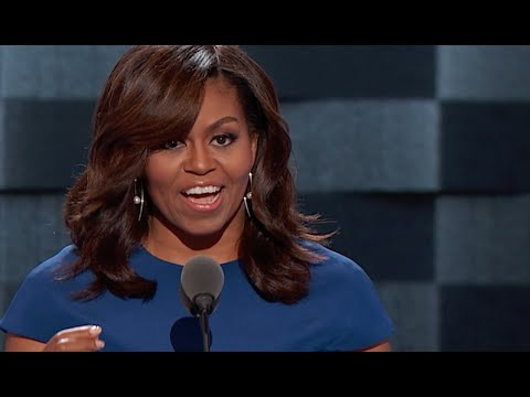 Highlights Of Michelle Obama's 2016 DNC...