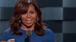 Highlights Of Michelle Obama's 2016 DNC Speech