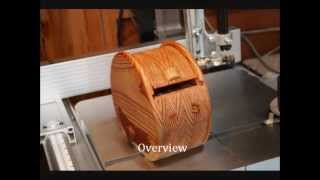 "Bandsaw Box ""the Moon"", Overview And Making."