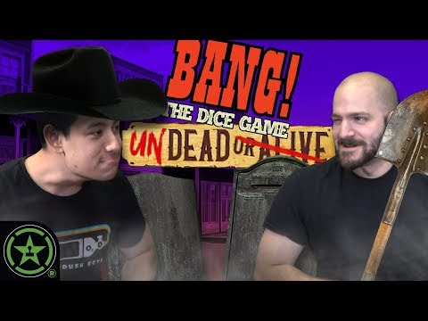 Dueling Zombie Cowboys - BANG! The Dice Game: Undead Or Alive - Let's Roll