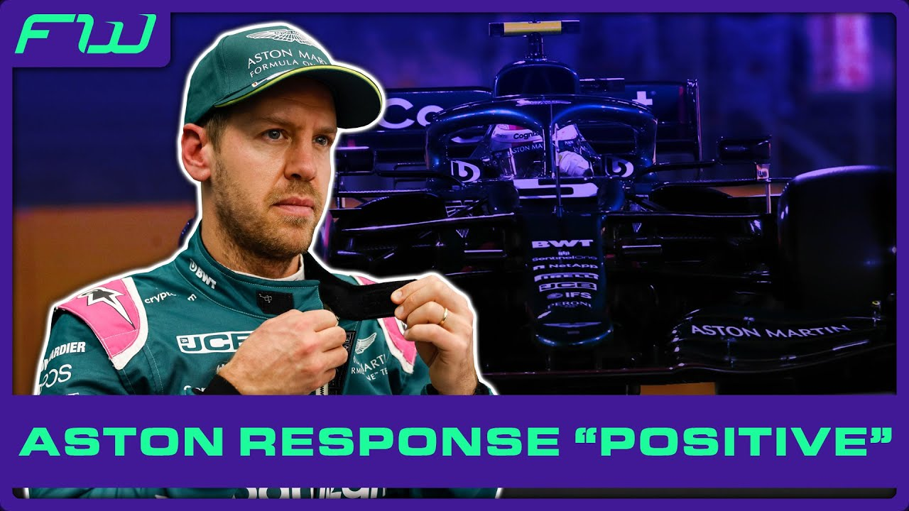 Vettel Happy With Response and Aston Martin Seek Rule Clarification