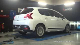 Peugeot 3008 hdi 163cv AUTO Reprogrammation Moteur @ 184cv Digiservices Paris 77 Dyno