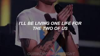 louis tomlinson - two of us // lyrics