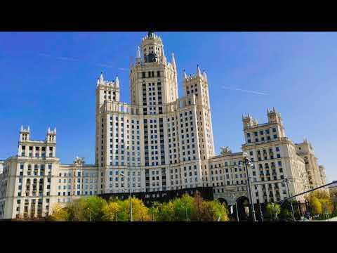 Экскурсия по Москве 4к, ч.1 (центр и проспект мира)