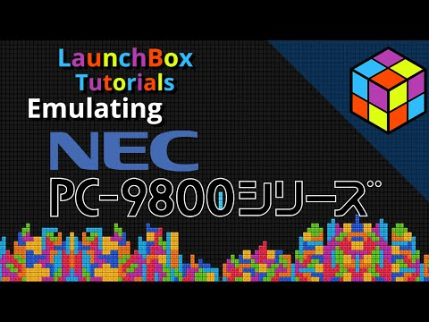 Emulating the NEC PC 9801 (Neko Project II) - LaunchBox Tutorials