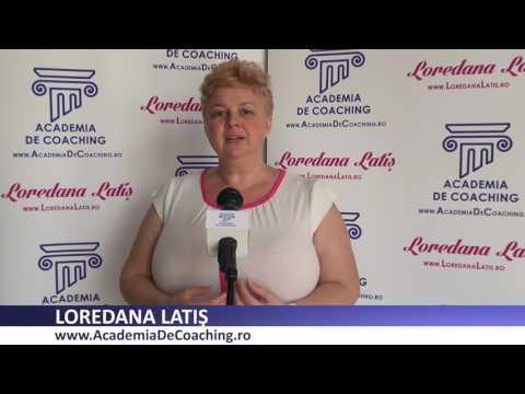 Loredana Latis, Public Speaking Academia Romana De Coaching iulie 2017