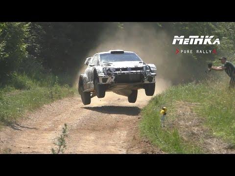 Mikkelsen / J.Synnevaag    Tests   WRC Rally Poland 2016   VW Polo WRC 2017