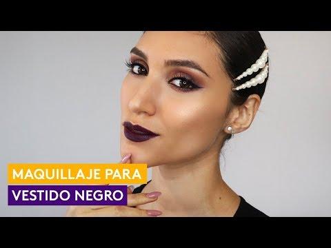 Maquillaje Para Vestido Negro Por Jose Sobarzo ésika