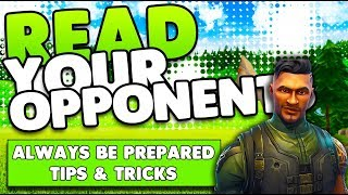 Reading Your Opponents! | Be Prepared & Win Every Fight! | Fortnite Battle Royale