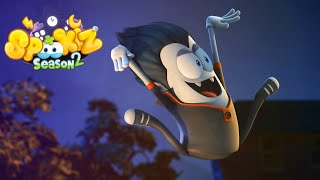 Spookiz | 219 | Swing Jump Challenge! | (Season 2 - Episode 19) | Cartoons for Children 스푸키즈