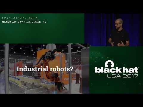 Breaking the Laws of Robotics: Attacking Industrial Robots