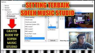 Setting Control Sofeh Music Studio