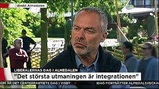 Liberalernas dag i Almedalen - Nyheterna (TV4)