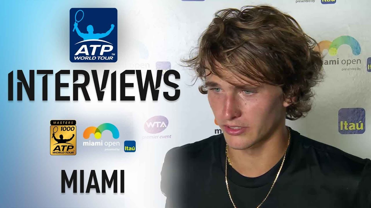 Zverev Reacts To Thrilling Win In Miami 2018