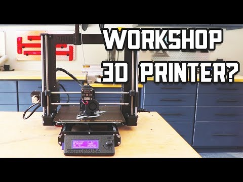 Adding a 3D Printer to your Shop