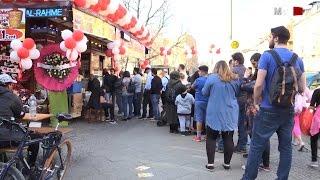 سندويش الشاورما بيورو والألمان والعرب عالدور- شارع العرب - المانيا| برلين