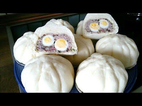 Làm bánh bao từ bột mì đa dụng, BÍ QUYẾT để nhân không rời vỏ bánh |Vietnamese German Kitchen Garden