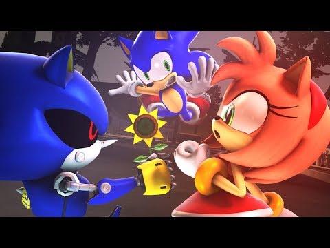 Amy Rose X Metal Sonic ❤ | Sasso Studios
