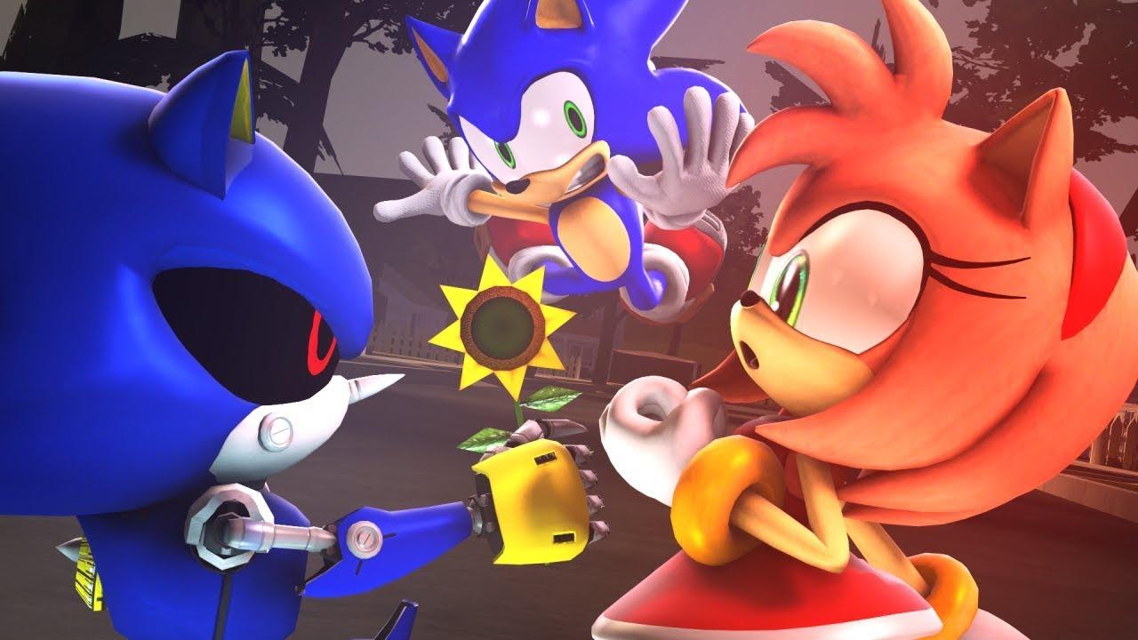 Amy Off Of Sonic amy rose x metal sonic ❤ | sasso studios