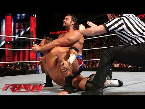 Zack Ryder vs. Rusev:  Raw, Sept. 1, 2014
