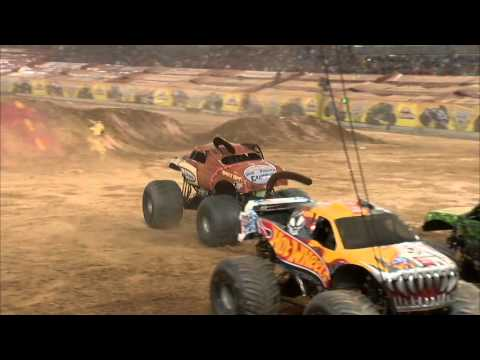 Monster Jam in M&T Bank Stadium - Baltimore, MD 2012 - Full Show - Episode 1
