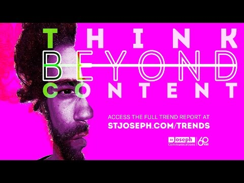 Think Beyond Content - Teaser Video (St. Joseph Communications)