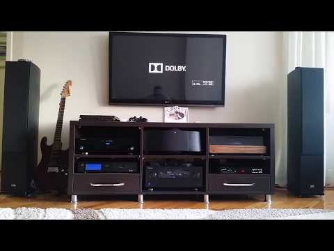 Home theater  Pioneer SC LX-86 & HECO  test
