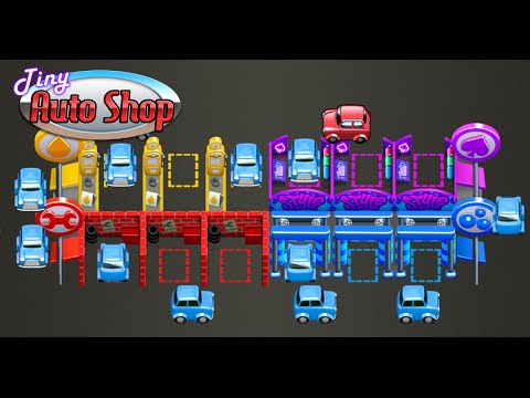 Tiny Auto Shop - Car Wash and Management Game for Android