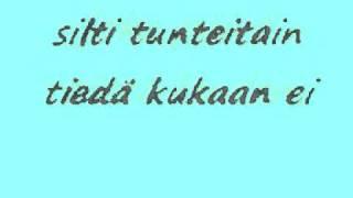 Sammy Babitzin - Kuin Tuhka Tuuleen lyrics