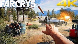FAR CRY 5 - Gameplay Walkthrough Part 1 - INTRO [4K 60FPS ULTRA]