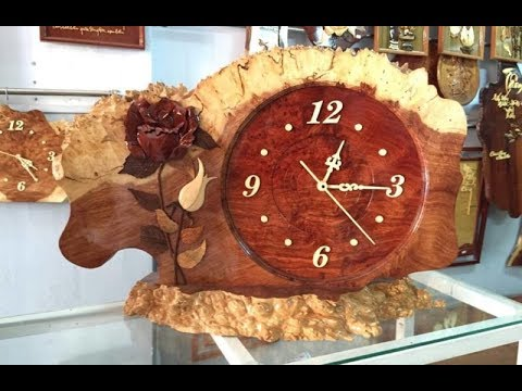 Hướng Dẫn Cách Làm đồng Hồ Bằng Gỗ đơn Giản Mà đẹp, Chất | How To Make A Clock From Wood