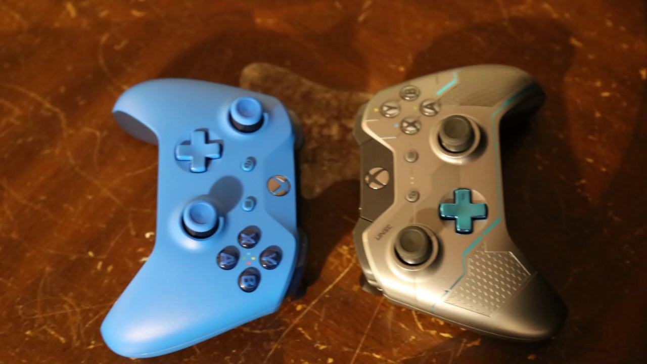 Xbox One S Controller Unboxing Blue Best Buy Edition