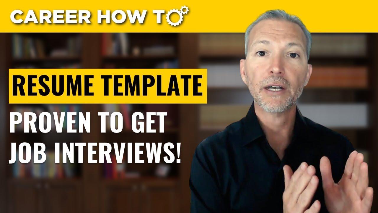How To Write The Perfect Resume Career Profile Youtube