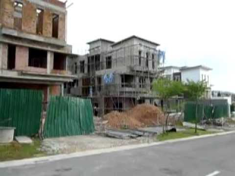 Horizon Hills GCC Johor Bahru Malaysia - Construction on Public Holiday