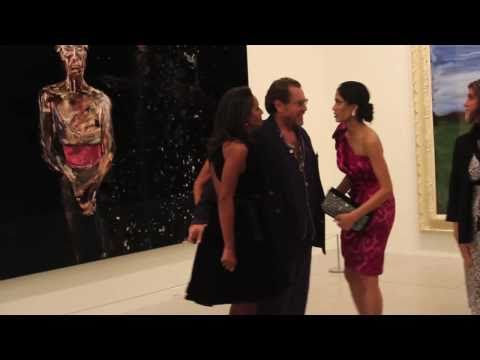 Exclusive: Julian Schnabel Previews Art Exhibit after Miral Premiere at the Art Gallery of Ontario