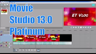 Sony Movie Studio 13.0 for Beginners | Sony Vegas Tutorial