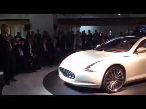 IAA 2015 Frankfurt, presentation of Thunder Power Sedan.