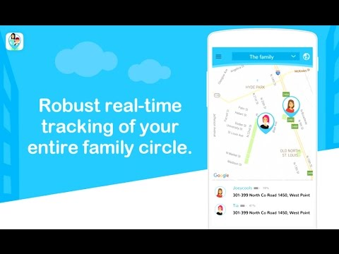 Family Locator App (Free). Track kids, wife or husband in real-time. Tracking Android and iPhone