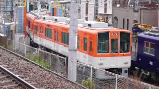 阪神8249F 分割入換(妻面先頭) 2018.05.07