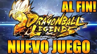NUEVO JUEGO DE DRAGON BALL AL FIN REVELADO PRIMER GAMEPLAY DRAGON BALL LEGENDS ANDROID IOS CELULARES