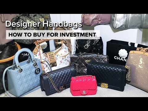 My ENTIRE Handbag Collection | How To Buy For Investment | Chanel, Dior, Louis Vuitton
