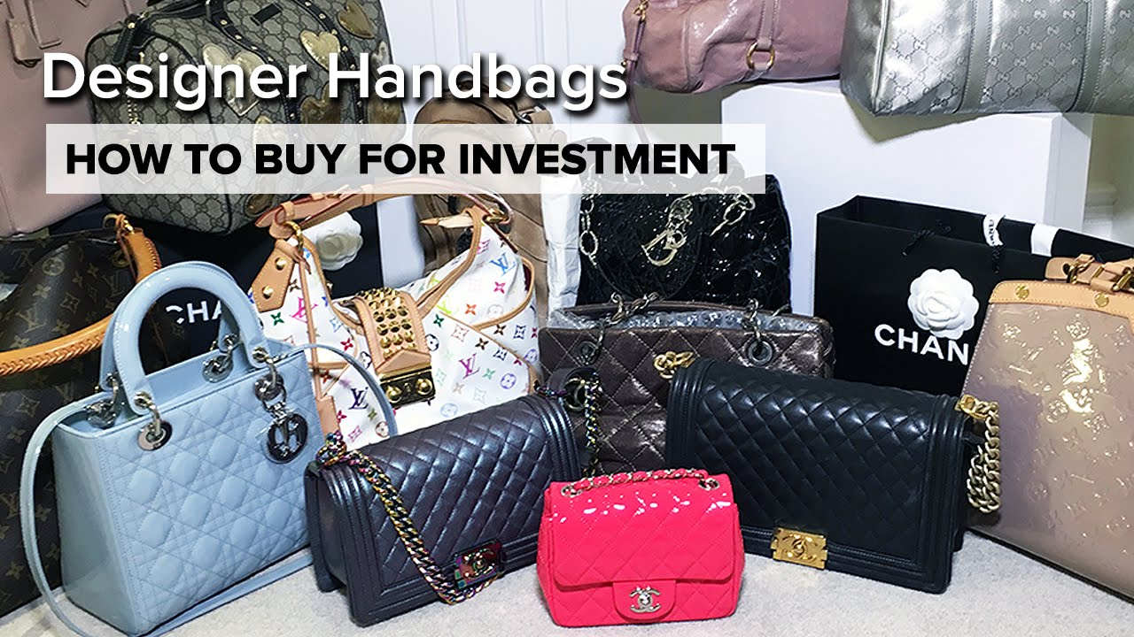 My ENTIRE Handbag Collection | How To Buy For Investment | Chanel ...