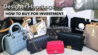 One of Sophie Shohet | Fashion Beauty Lifestyle's most viewed videos: My ENTIRE Handbag Collection | How To Buy For Investment | Chanel, Dior, Louis Vuitton