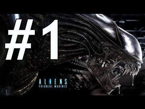 Aliens Colonial Marines -İlk Bölüm- Tamçözüm / Oynanış [HD] Walkthrough |
