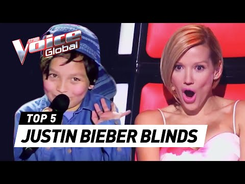 Thumbnail: BEST JUSTIN BIEBER BLIND AUDITIONS IN THE VOICE KIDS