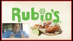 Rubios Original Fish Taco REVIEW!