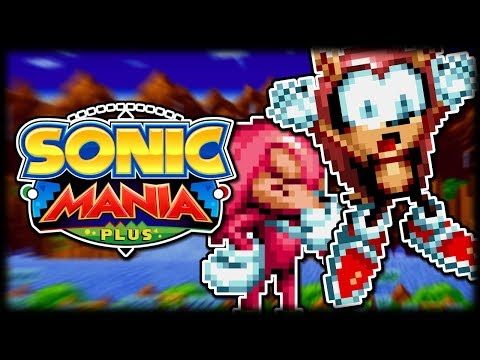 Sonic Mania Plus (Mighty & Knuckles) Part 1 - Green Hill Zone & Chemical Plant Zone