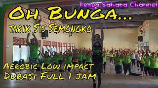 Download lagu Senam aerobik Bunga tarik sis semongko | Aerobic Body Language | Musik aerobic low impact